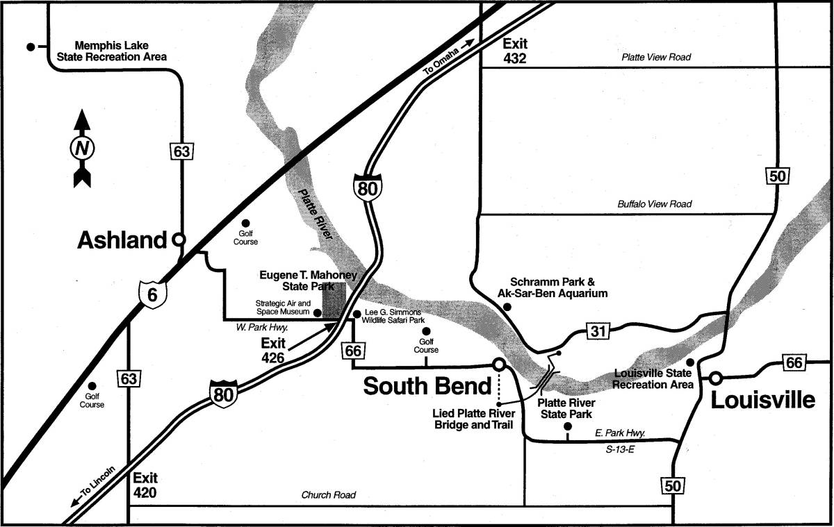 Mahoney State Park Map